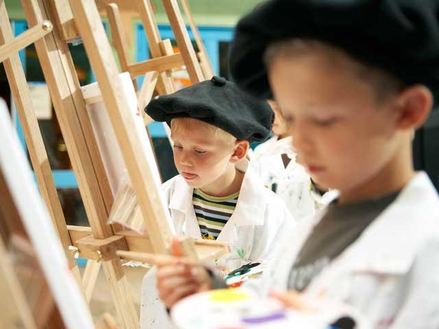 רוצה להיות צייר בסנטר פארקס