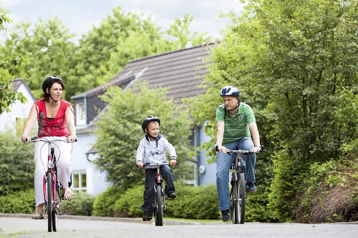 רכיבת אופניים בפארק אייפל