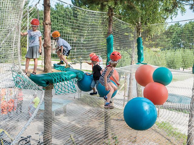 רשת מתנדנדת לילדים בסנטר פארקס