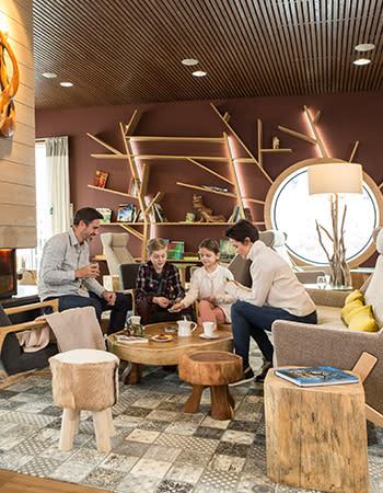 Forest Lodge Café מסעדה בכפרי נופש צרפת