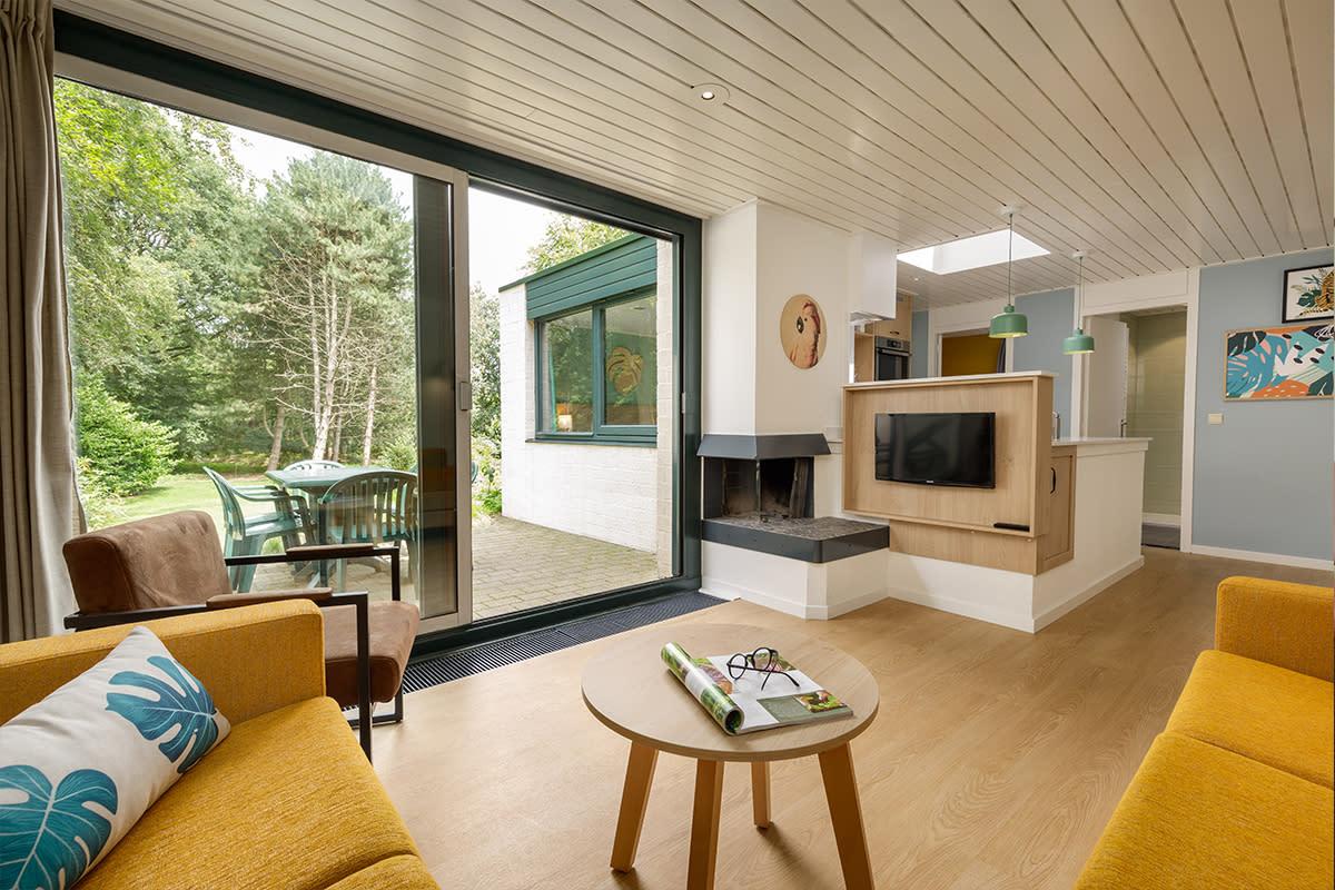 קוטג' Comfort  בכפר הנופש Het Heijderbos