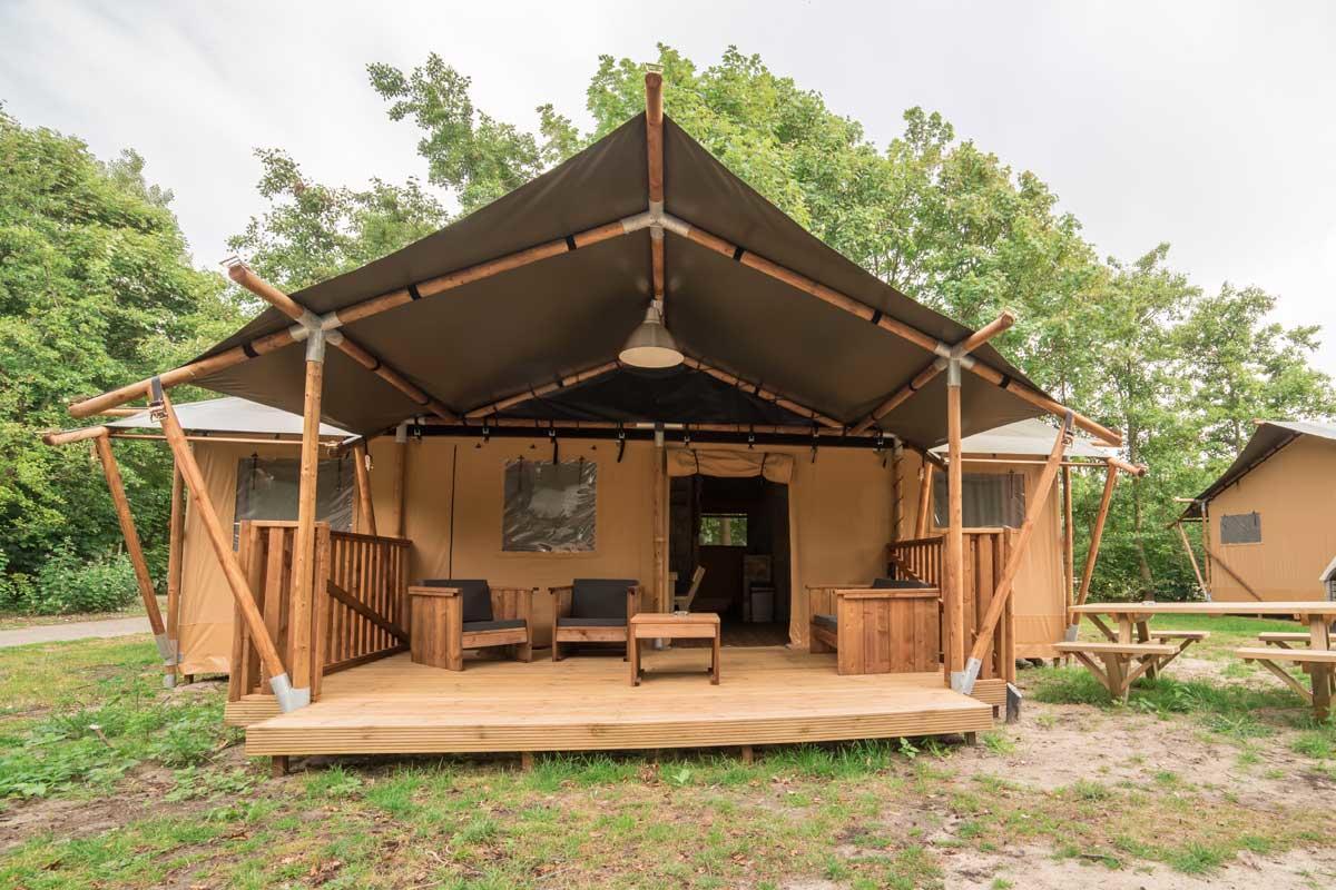 Lodge Tent בכפר הנופש Port Zélande