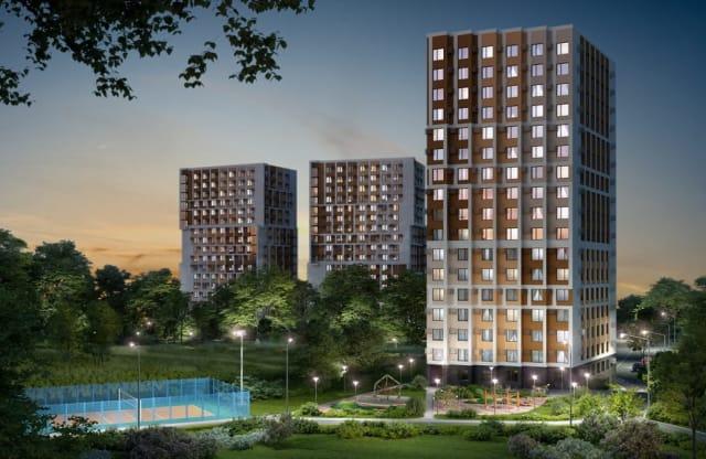"""Квартиры в ЖК """"Гармония Парк"""" на официальном сайте"""