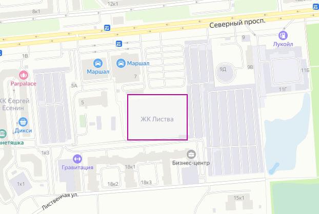 """Квартиры в ЖК """"Листва"""" на официальном сайте"""