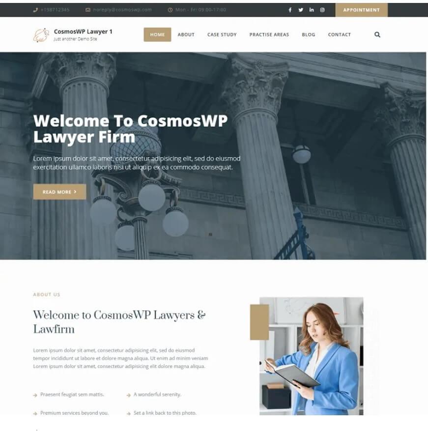CosmosWP Lawyer