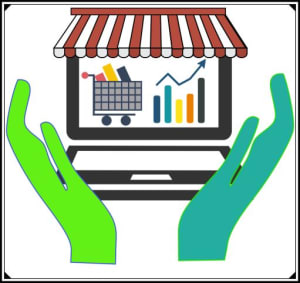 Digital help store logo