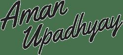 Aman Upadhyay logo