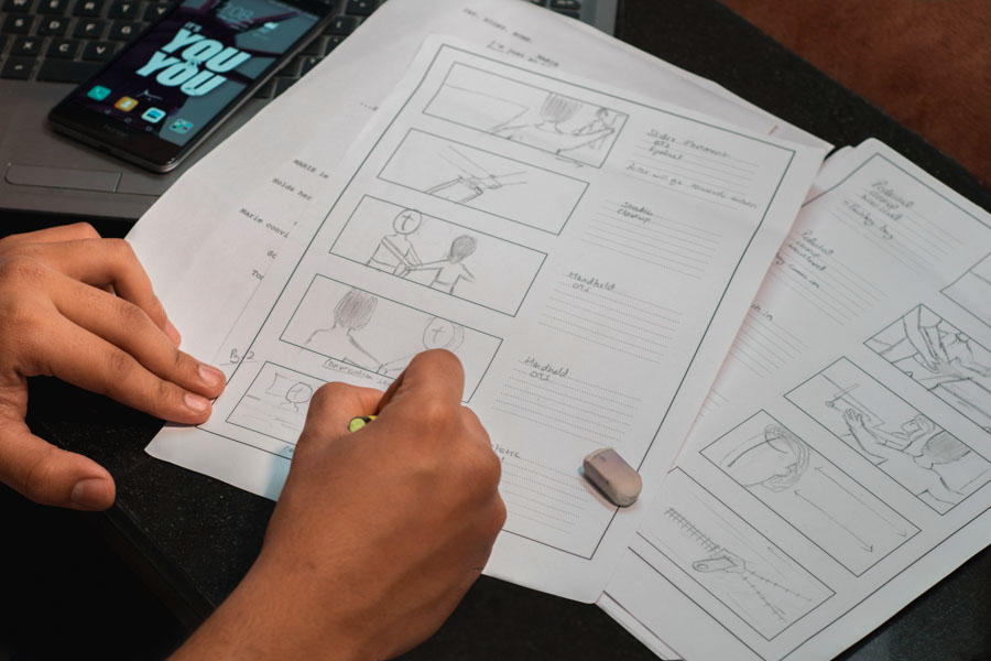 Writing Storyboards