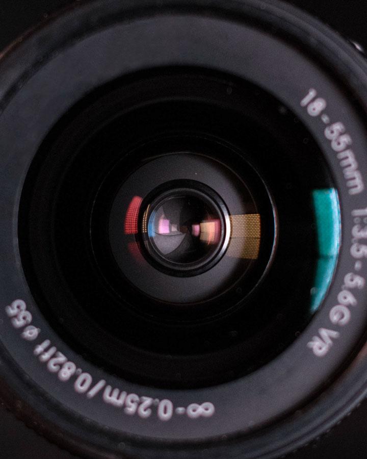 Kit Lens Close-up