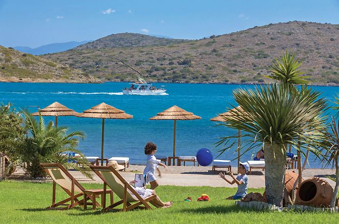Elounda Beachfront Villa