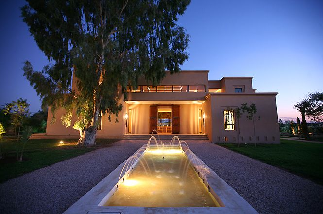 Morocco Design Palm Villa