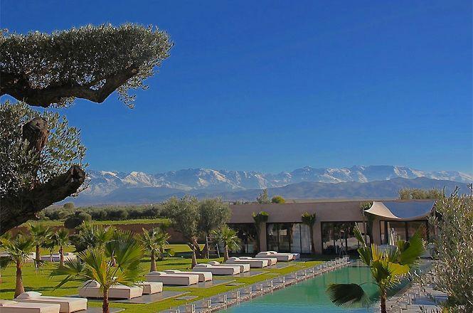 Contemporary Atlas Mountains Villa