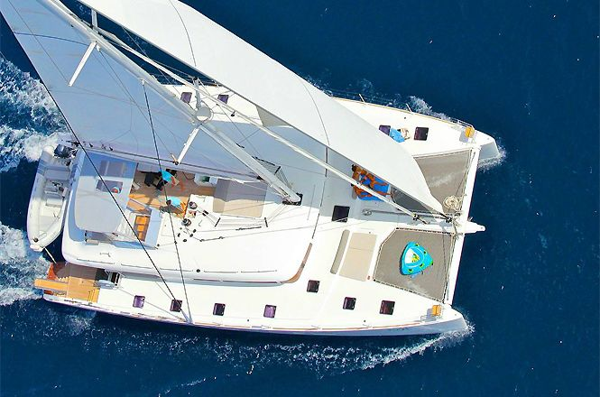Luxury Catamaran Greece