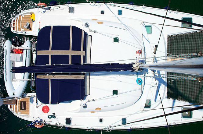 Catamaran Deluxe Greece