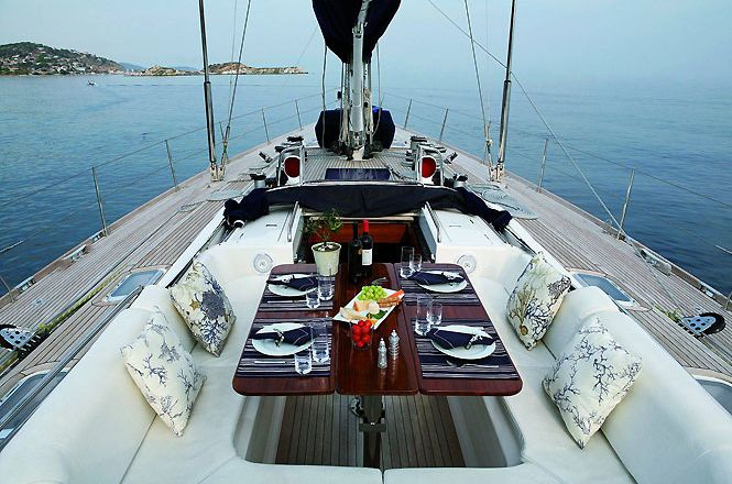 Luxury Sailboat Athens
