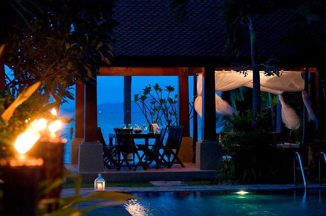Beachfront Thai Sea Villa