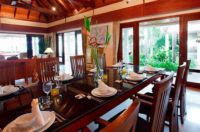 Beachfront Thai Art Villa
