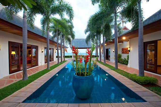 Beachfront Thai Family Villa