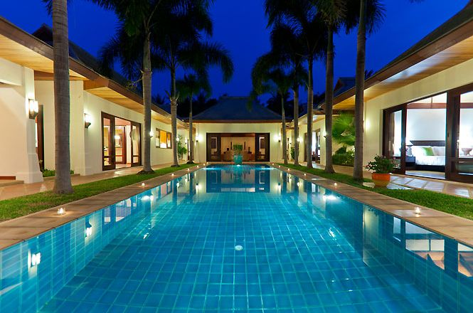 Beachfront Thai Luxury Villa