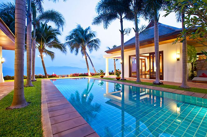Beachfront Thai Cozy Villa