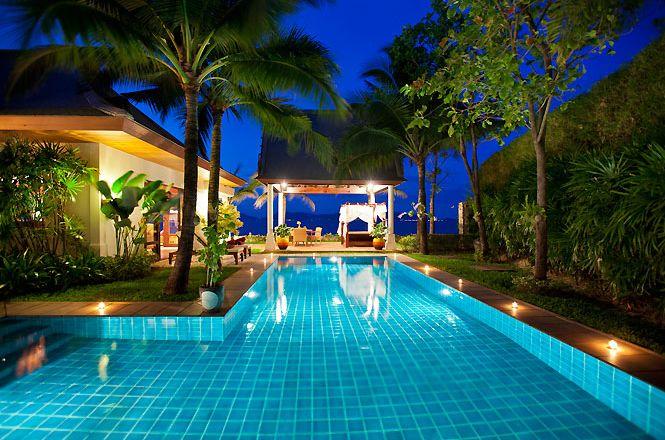 Beachfront Thai Deluxe Villa