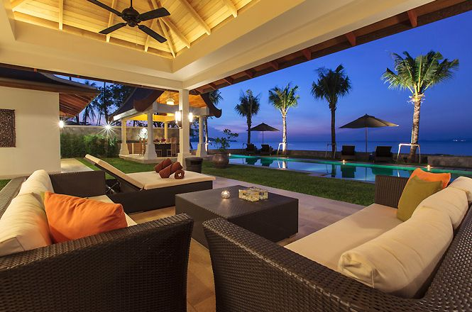 Beachfront Thai Stylish Villa
