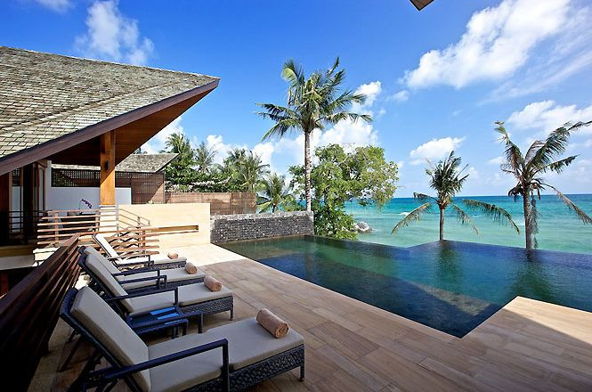 Chic Seafront Asian Villa
