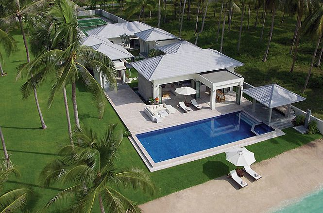 Contemporary Seafront Asian Villa