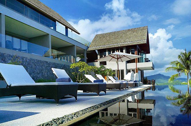 Modern Hillside Asian Villa