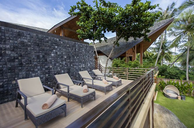 Stylish Oceanview Asian Villa