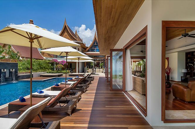 Private Beach Asian Villa