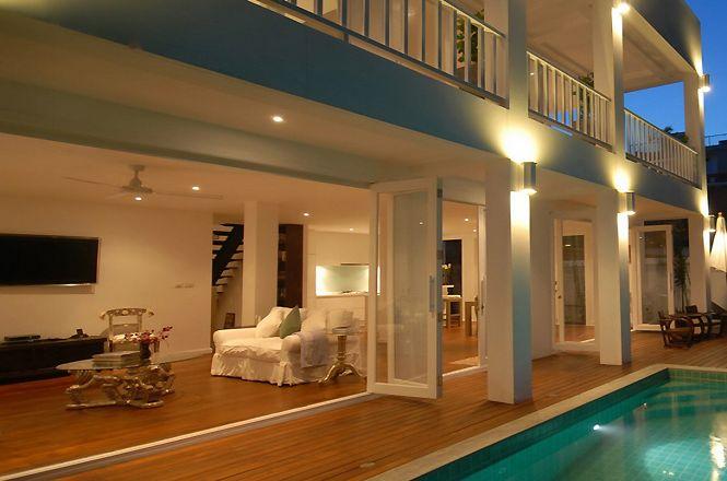 White Asian Villa