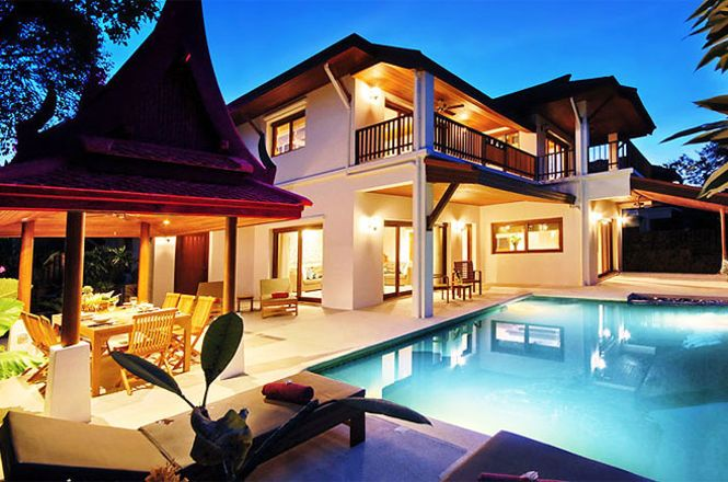Elegant Beach Resort Villa