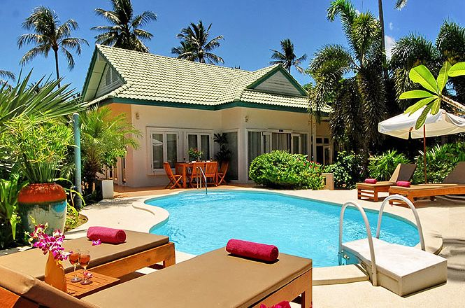 Cozy Beach Resort Villa