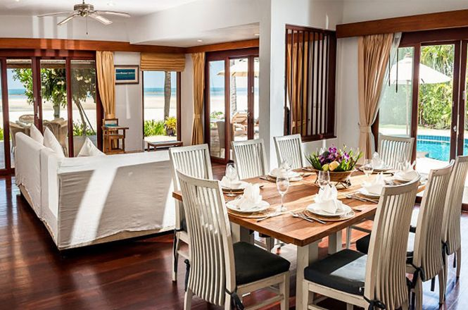 Oceanfront Beach Resort Villa