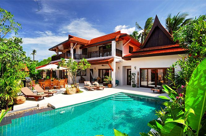 Unique Beach Resort Villa