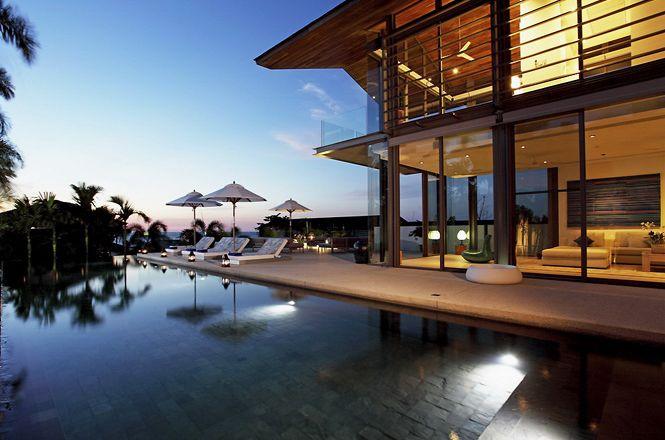 Beachfront Contemporary Villa