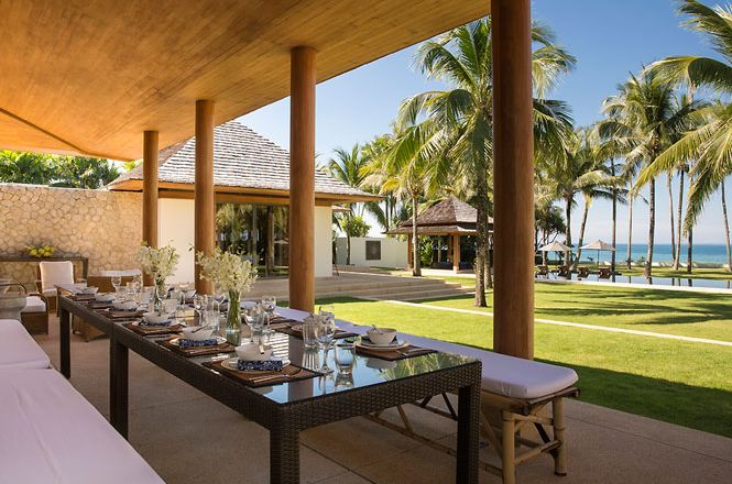 Superb Beachfront Villa