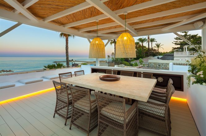 Golden Mile Beachfront Villa