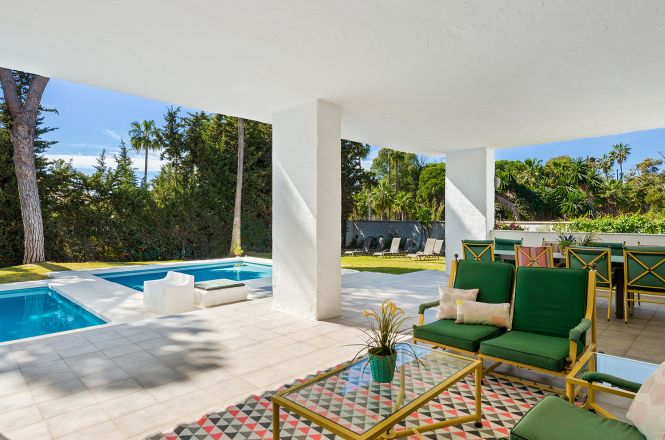 Puerto Banus Coastal Villa