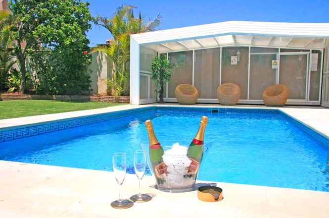 Deluxe Pool House Marbella