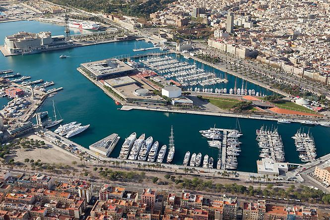 Location Yachts Luxe Barcelone