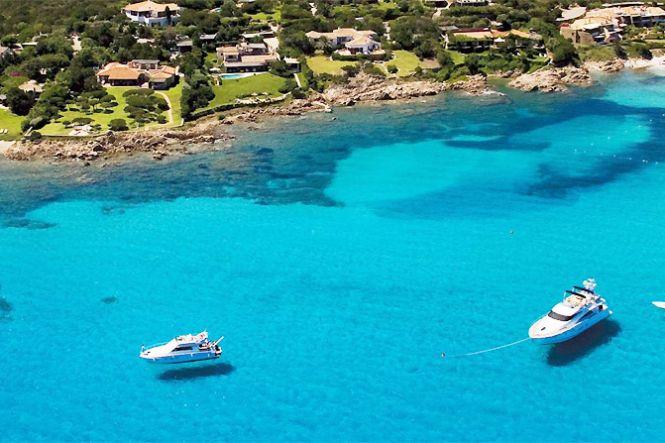 Yachts Luxe Sardaigne