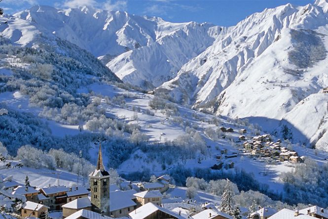 Villas Lujo Alpes Franceses