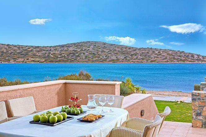 Crete Elounda Elounda Beachfront Villa
