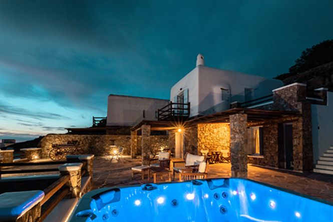 Griekenland Mikonos Houlakia Jacuzzi Home