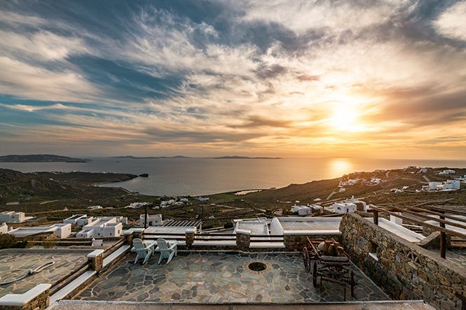 Griechenland Mykonos Houlakia Jacuzzi Home