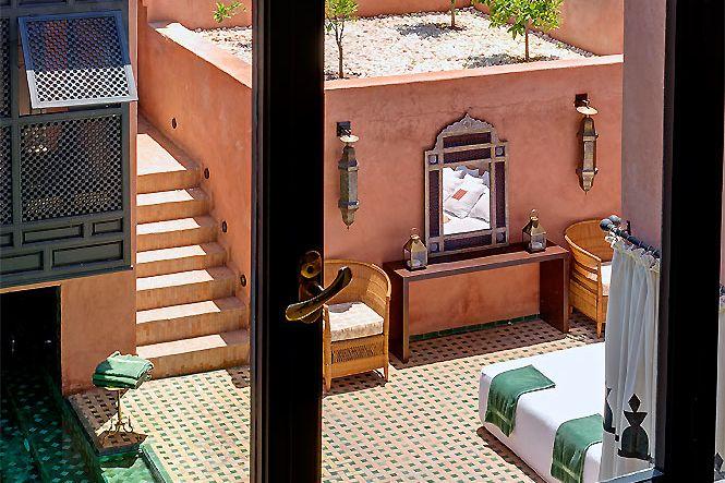 Maroc Marrakech Palmeraie Villa Pool
