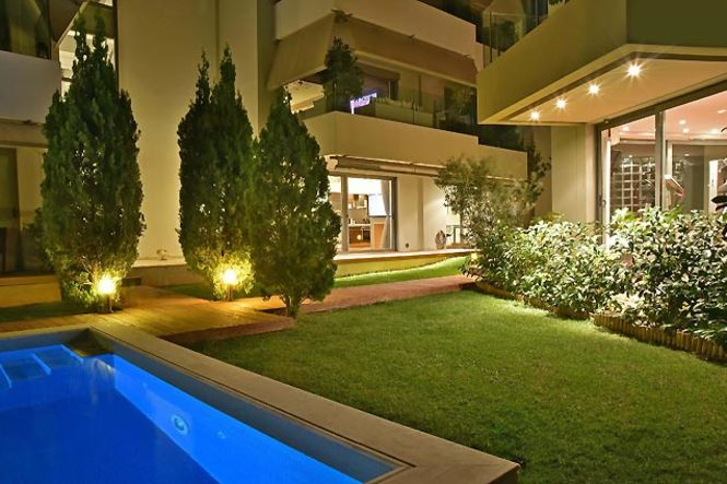 Griechenland Athen Alimos Pool Apartment