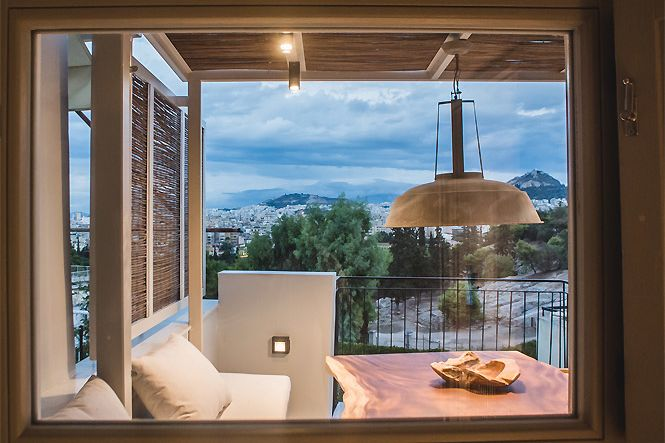 Griekenland Athene Acropolis Jacuzzi Apartment